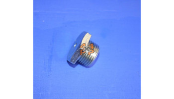 BOUCHON REMPLISSAGE/VIDANGE BOITE DE TRANSFER 18mm (SANS AIMANT)  pour  MITSUBISHI  PAJERO  V24 - 2.5TD 1991-4/2004 court