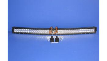 BARRE LED COURBE (104 CM)  pour  MITSUBISHI  L200 PICKUP  K64 - 2.5D/TD 4x2 1996->12/2007