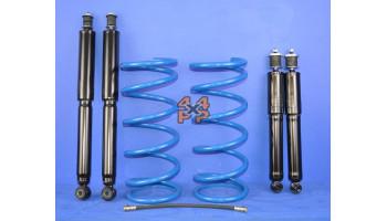 KIT REHAUSSE 75mm (OBC et TOKICO)  pour  MITSUBISHI  V46 - 2.8TD 11/1993-2/2000 long  Suspension
