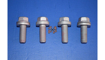 BOULONS FIXATION CENTRALE BARRE STAB ARRIERE (4)  pour  MITSUBISHI  V46 - 2.8TD 11/1993-2/2000 long  Suspension