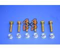 BOULONS FIXATIONS DISQUE AVANT (6) 1 COTE